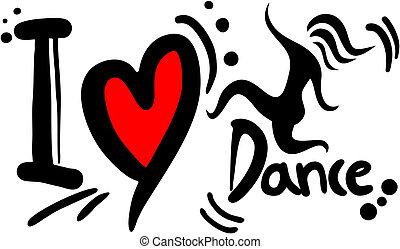 Love dance - Creative design of love dance