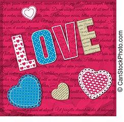 Love Design Concept - Love design concept for valentine day...