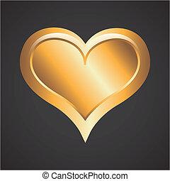 Love design over black background, vector illustration