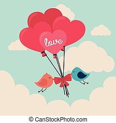 Love design, vector illustration. - Love design over...