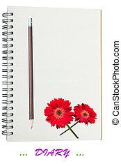 Love Diary Concept