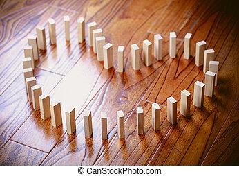 Love Domino Effect