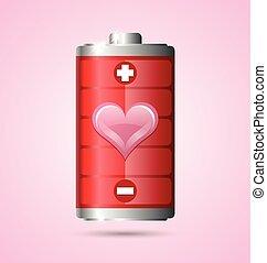 Love energy icon