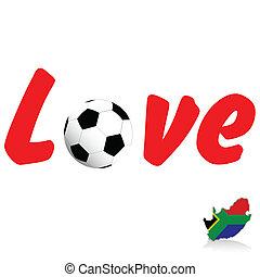 love football illustration