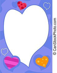 Love Frame - hearts border