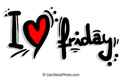 love friday clipart vector and illustration 634 love friday clip rh canstockphoto com friday clipart with animals friday the 13th clip art
