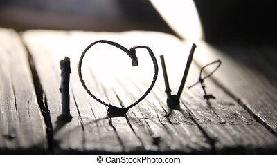 LOVE Happy Valentines day idea