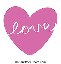Happy Valentine's Day love heart
