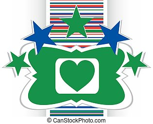 love heart icon button sign vector