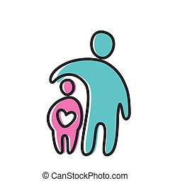 love heart parent icon