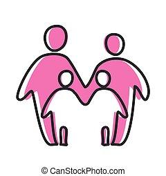 love heart parent icon