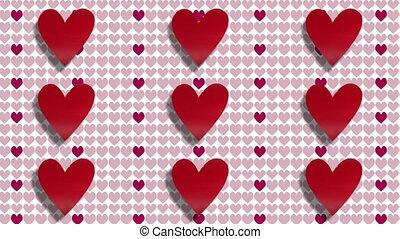 Love Heart Valentines Day Background