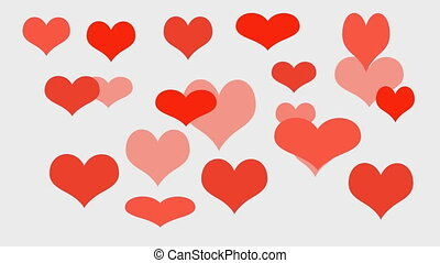 Love Hearts - valentine's day background