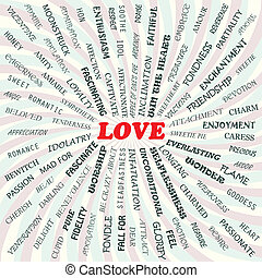 love - illustration of love concept
