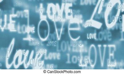 Love in Blue Loop