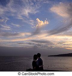 love in the bay of Naples