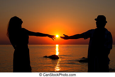 Love in the setting sun
