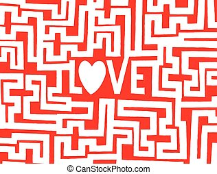 Love is a complex maze