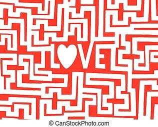 Love is a complex maze