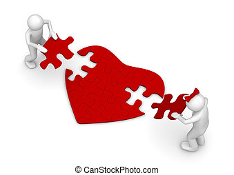 Love is a hard puzzle