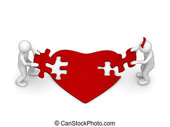 Love is amazing puzzle