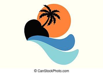 love island paradise logo