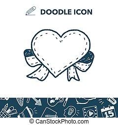 love label doodle