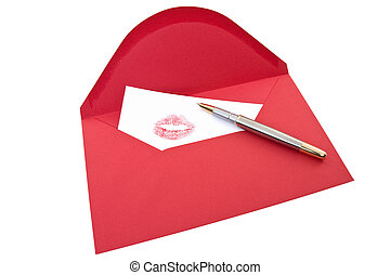 Love Letter and pen