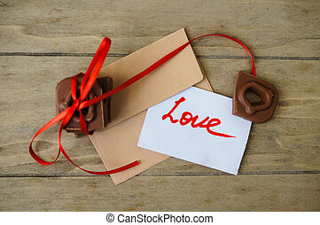 Love letter for Valentine's Day