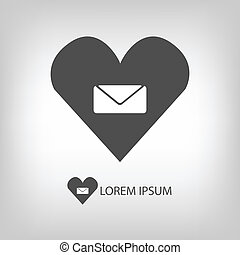 Love mail sign