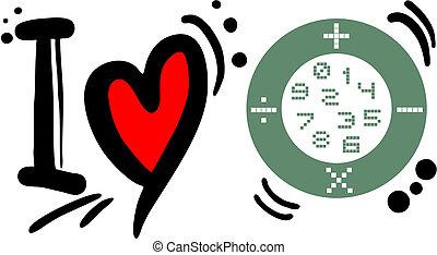 Love math - Creative design of love math