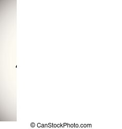Love message on white background