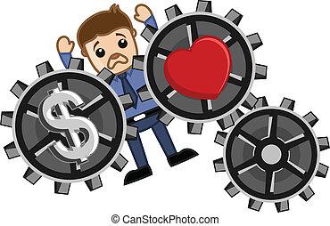 Love & Money Concept - Burden