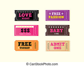 Love night tickets - Join crazy night party with collection...