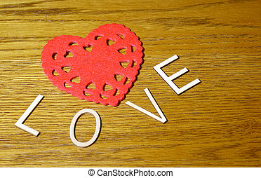 Love of the heart
