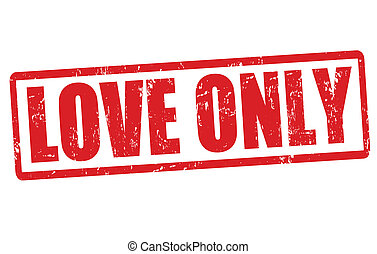 Love only stamp