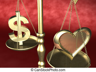 Love or Money 01 - Love or Money Scale 3D