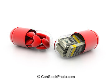 Love or money capsule