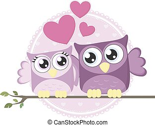 love owls couple