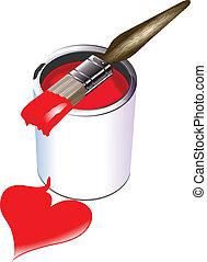 love paint