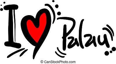Love palau - Creative design of love palau
