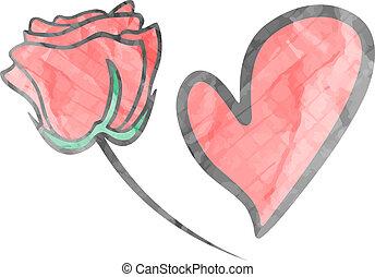 Love paper art