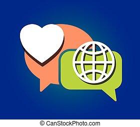 love peace communication