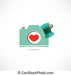 Love photo camera
