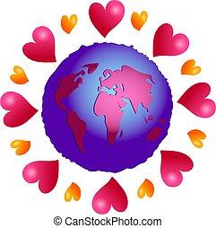 love planet - love makes the world go around