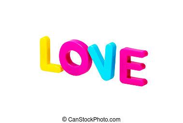 Love plastic Blocks