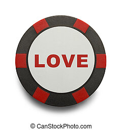 Love Poker Chip