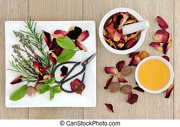 Love Potion Herbs