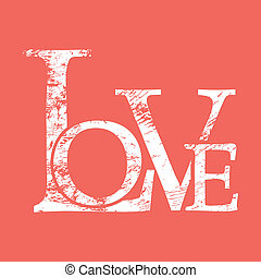 love print background