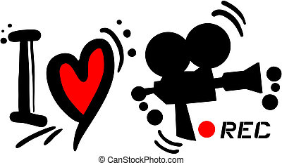 Love rec - Creative design of love rec